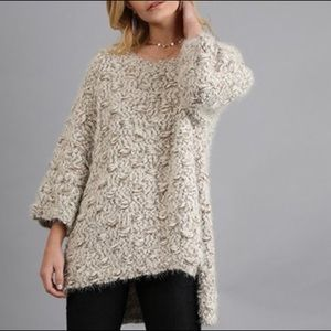 Umgee Boutique Oversized Chunky Knit Sweater